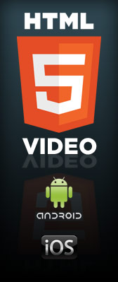 HTML5 Video on Simple Web TV